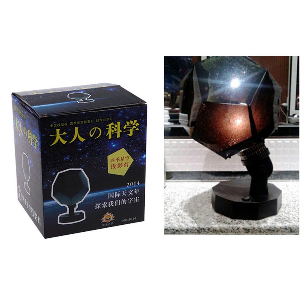 Romantic Planetarium Star Celestial Projector Light Lamp Sky Night Light LED Flashing Star For Room Home Decor New Year Gift