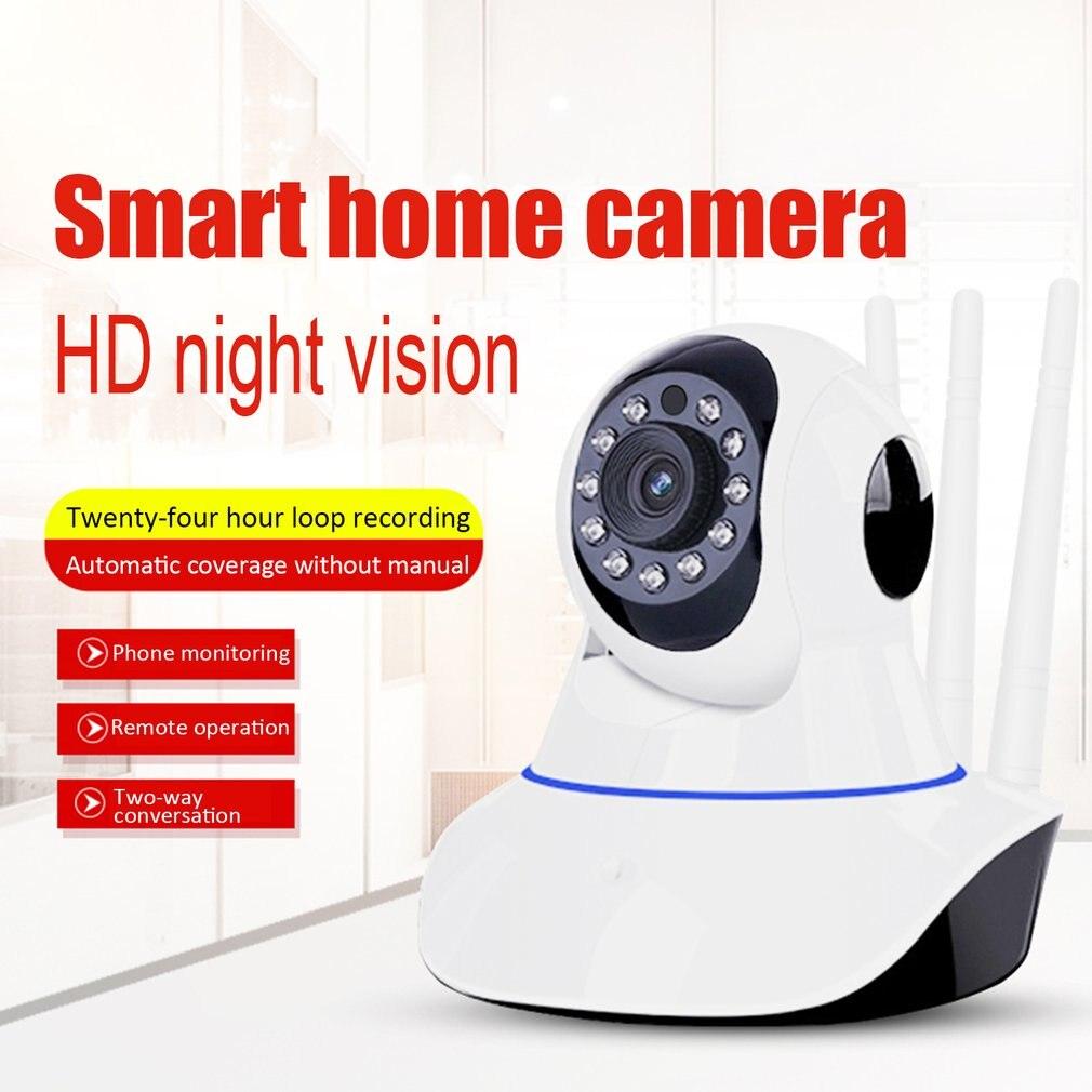 Беспроводная веб камера, камера наблюдения, детская Домашняя безопасность, Wifi Hd камера, голосовая Интерком, инфракрасное ночное видение Камеры видеонаблюдения      АлиЭкспресс