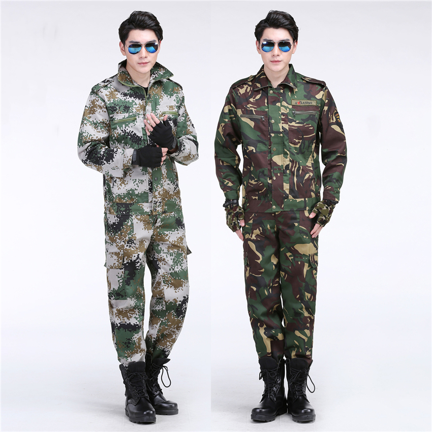 Men Soldier Army Military Uniform Camouflage Special Force Combat-proven Jacket Pants Suit Disguise Airsoft Tactical Clothing