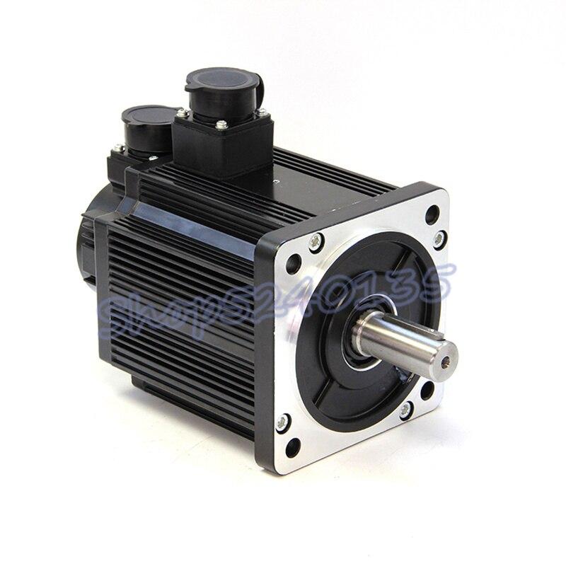 130st m06015 220 v ac 0.95kw servo motor ac unidade 950w 6n. m alta velocidade 1500 rpm com cabo de 3m para cnc roteador gravura - 4