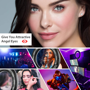 Image 5 - 18 inch 45cm RGB Ring Light Selfie Colorful Photography Lighting with Phone Holder Stand LED Ring Lamp For Youtube Video Lives