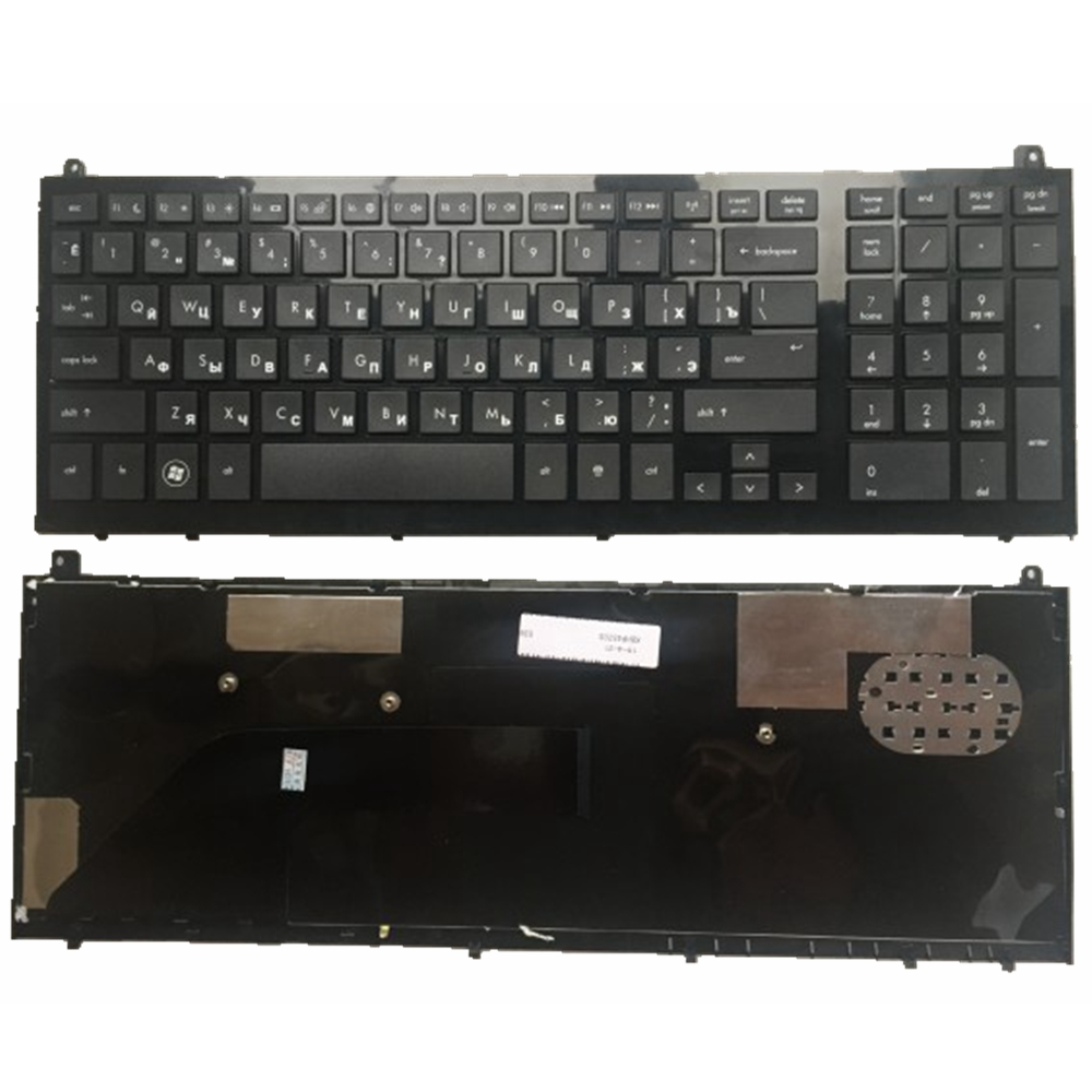 GZEELE Laptop Accessories Russian Laptop Keyboard FOR HP PROBOOK 4520S 4520 4525 4525S RU Layout  Black