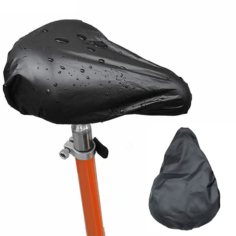 Bicycle Seat Rain Cover Outdoor Waterproof Elastic Dust And Rain Resistant UV Protector Bike Saddle Cover Bike Accessories