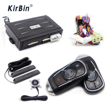 Kirbin Remote Start Kit For Car,Keyless Entry Push Start System,Car Keyless Entry,PKE Car Alarm,Start Stop Engine Keyless Entry