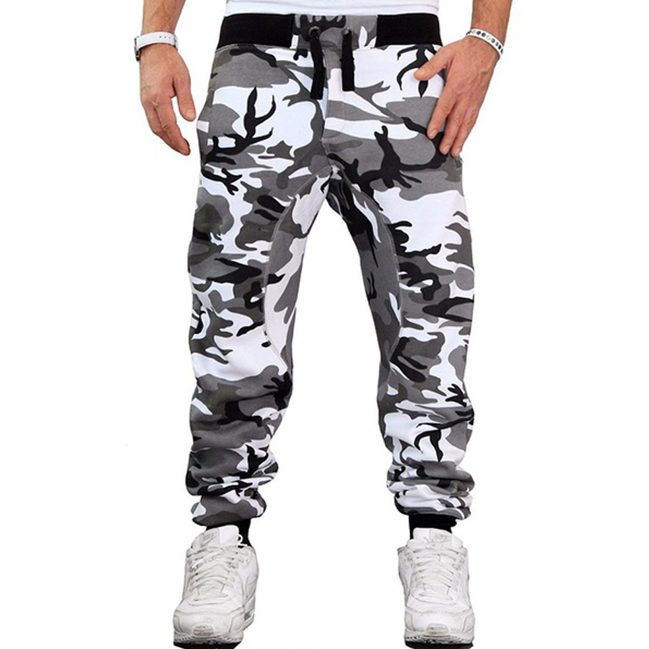ZOGAA 2019 Autumn Men Camouflage Pants Drawstring Casual Sweatpants Trousers Male Casual Fashion Slim Fit Streetwear Joggers Men