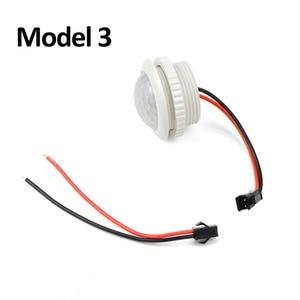 Image 4 - Vertraging Verstelbare 110V 220V Zeer Gevoelige Auto On/Off Pir Infrarood Motion Sensor Switch Mode detector Lichtschakelaar