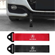 Car Exterior Trailer Rope Nylon Trailer Belt Decal Decoration for Acura RDX Integra CDX MDX ZDX TLX RLX TSX RSX Accessories
