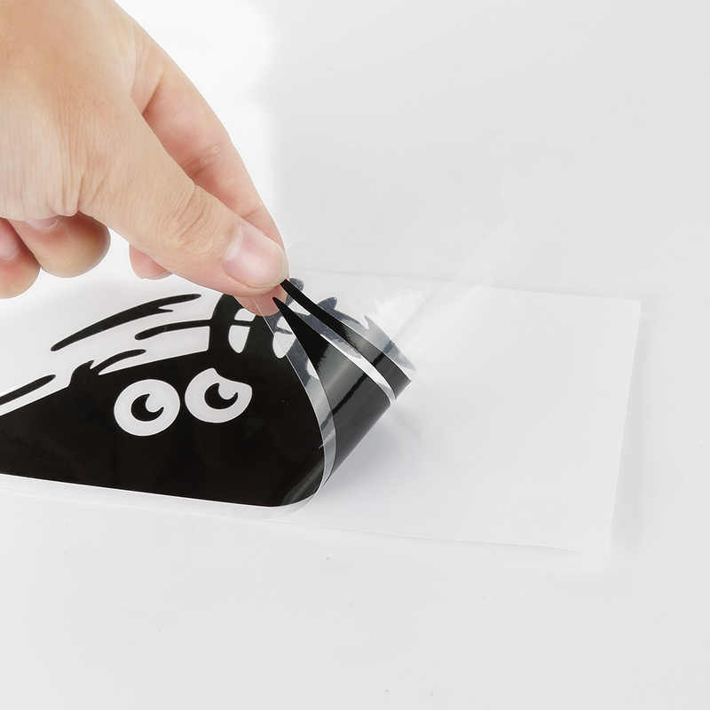 Xe Ô Tô Ngộ Nghĩnh 3D Đôi Mắt Lớn Decal Dán Xe Đen Miếng Dán Nhìn Trộm Quái Vật Miếng Dán Trang Trí Xe Hơi Tự Động Sản Phẩm Phụ Kiện Xe Hơi