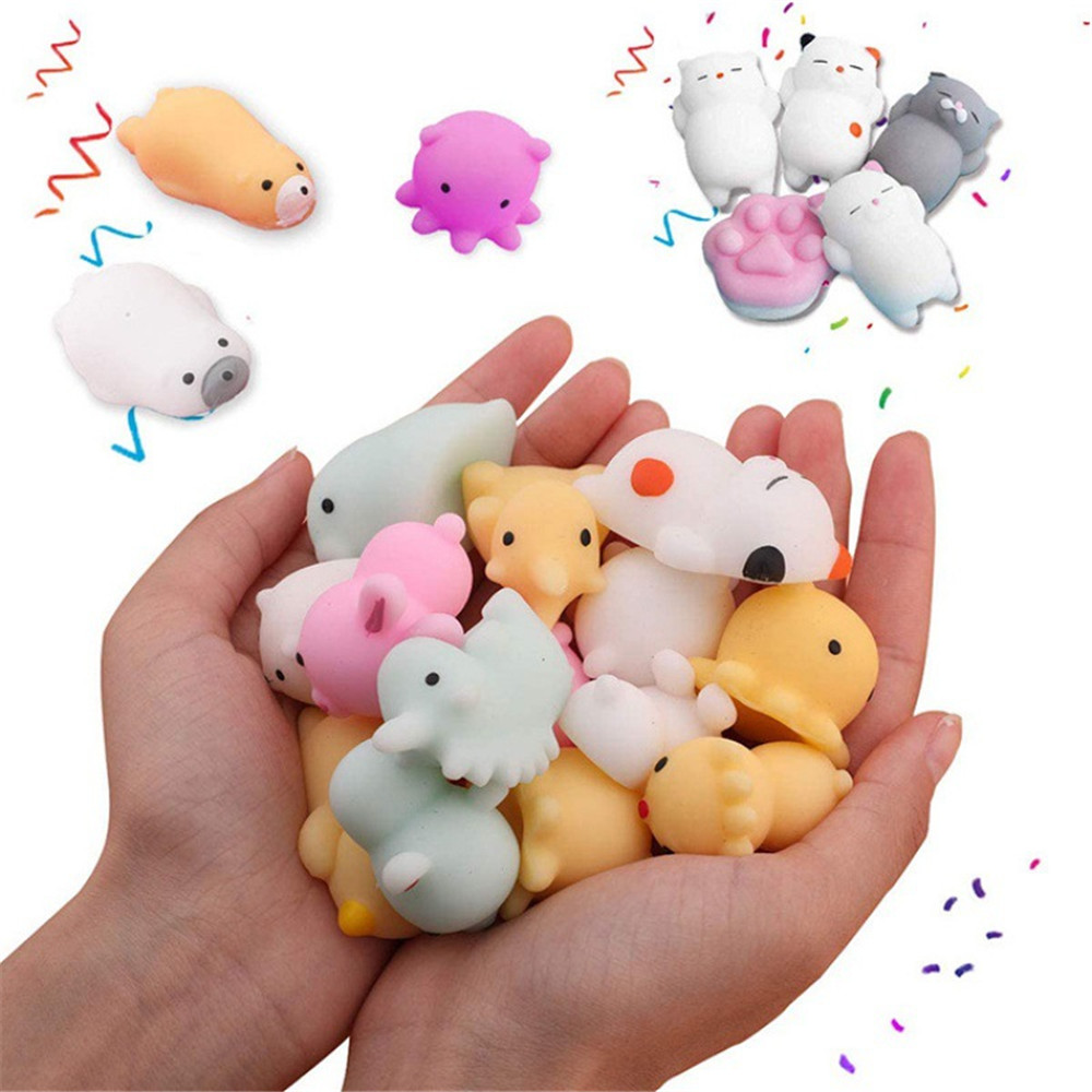 Mochi Squishy Toys Stress-Toy Moj Adult Child Cute Kawaii For Kids Gift with Bag Venting img2
