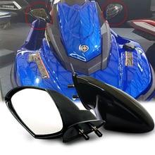 2Pcs Motorboat Rearview Mirror Jet Ski Mirror Motorcycle Accessories for Yamaha Pwc Waverunner