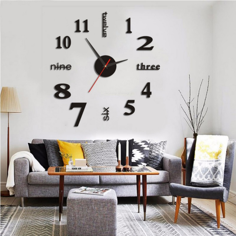 Home Wall Sticker English Numbers Diy