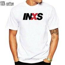 男性tシャツtシャツinxsロック80 tシャツ女性のtシャツ
