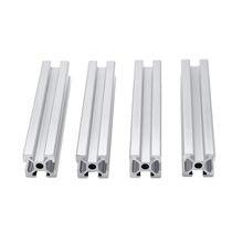 4 шт/лот 2020 алюминиевый профиль от 100 мм до 800 Длина линейной