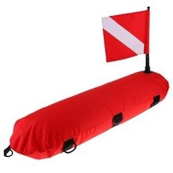 Nadmuchiwany sygnał nurkowy pływak boja nurkowanie flaga Diver Down Banner|Zewnętrzne narzędzia|   -