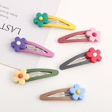 2019 New Hair Clips For Women Cute Flower Hair Clip For Girl Metal Fashion Hairpins For Hair Tie Kids Hair Accessories For Women shinely kids adult hair clip with bow tie decoration hair ornaments hairpins big gold hair accessories hair clips for women