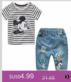 Hfc4b952800c743c8916cb41988c4594bF Girls Dress 2018 Summer Explosion Solid Color Denim Dress Cartoon Polka Dot Bow Cartoon Bunny Satchel Korean Baby Cute Dress