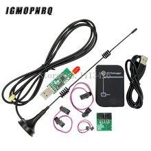 Cc2531 emulador de zigbee cc-depurador usb programador cc2540 cc2531 sniffer com antena bluetooth módulo conector cabo downloader