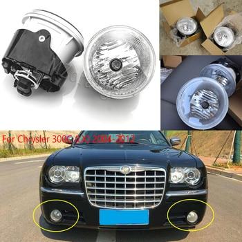 цена на fog lights For Chrysler 300C front fog light halogen bulbs fog lamps For Chrysler 300C (LX) 2004-2012 04805858AA car lights