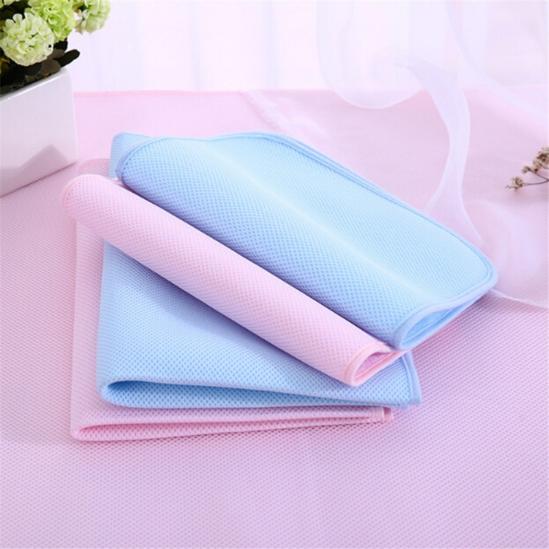 New Baby Bamboo Reusable Diapers Kids Waterproof Mattress Bedding Diapering Changing Mat Three-layer Sheet Care Pad For Babies