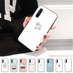Christmas elements Luxury Phone Case For Samsung S10 10Plus Note10 Note9 A71 A70 S9 S10 Case