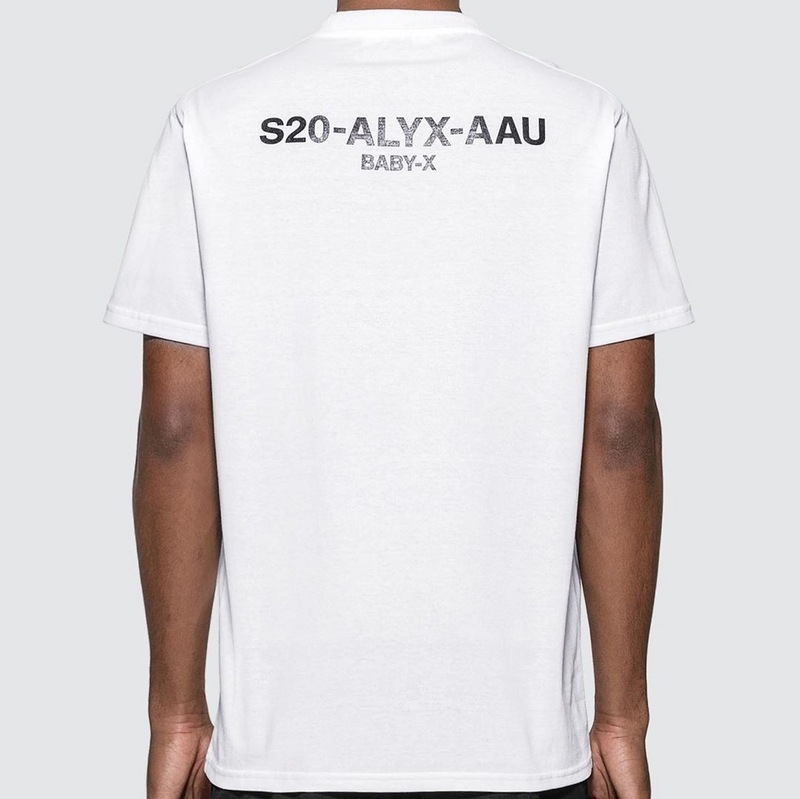 2020 New 1:1 Best Quality 1017 ALYX 9SM T Shirt Men Women Couples T-Shirt S20-ALYX-AAU BABY-X Cotton Tees Men