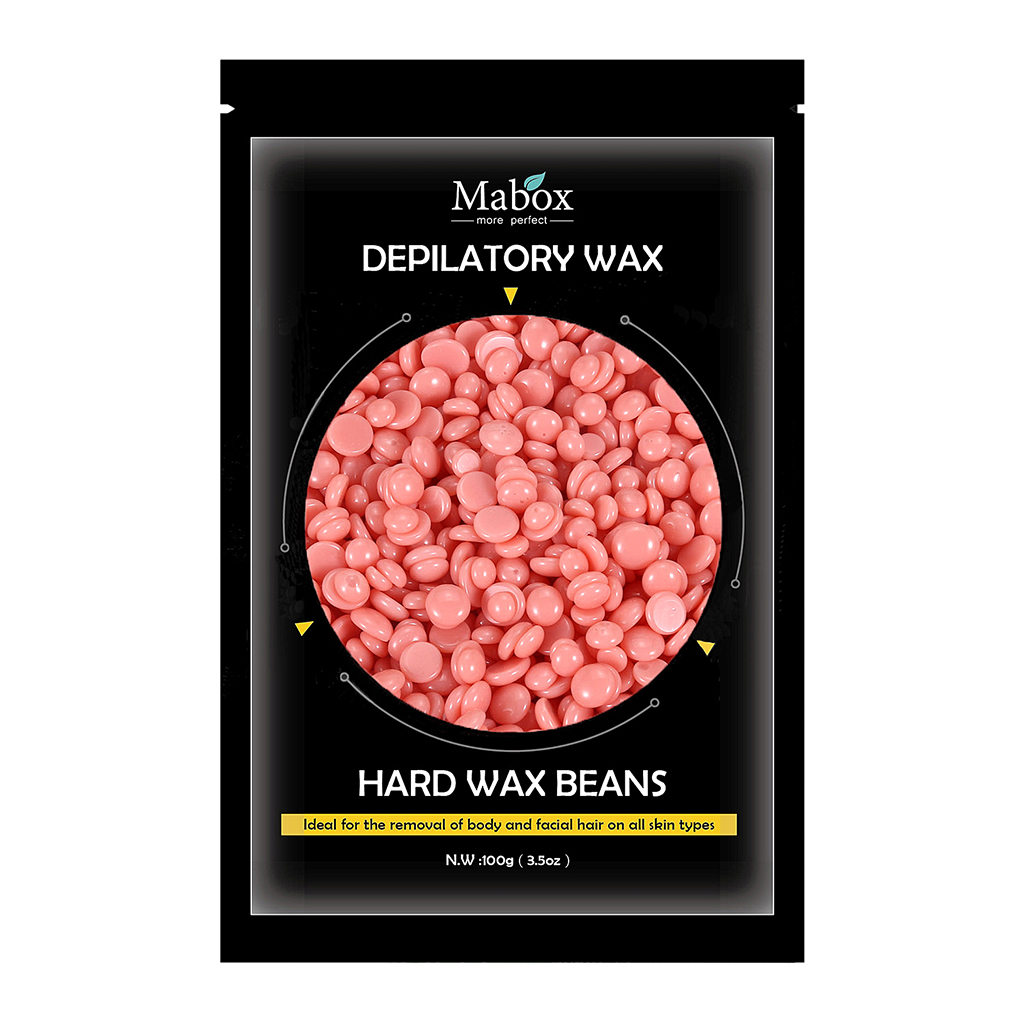 Hard Wax Beans Bikini Pearl Hot Waxing Beads Facial Hair Removal Depilatory For Face Body Eyebrow Nose Leg