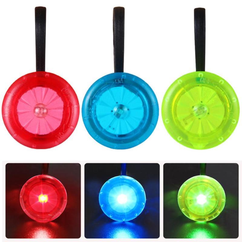 Outdoor Sports Mini LED Bicycle Lamp Backpack Zipper Light Pet Flashlights
