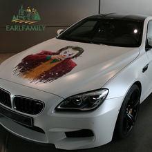 Earlfamily 43cm x 24.2cm para o coringa pintura engraçado grandes adesivos de carro e decalques diiy vinil carro assessoires decoração à prova dwaterproof água