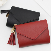 Women Wallets Small Fashion Brand Leather Purse Ladies Card Bag For Women 2021Clutch Women Female Coin Purse Money Clip Wallet