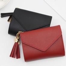 Women Wallets Small Fashion Brand Leather Purse Ladies Card Bag For Women 2021Clutch Women Female Coin Purse Money Clip Wallet