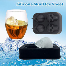 Mold Tray Silicone Skull Bar Party Gift And High Christmas-Chocolate-Mold Low-Temperature-Resistance