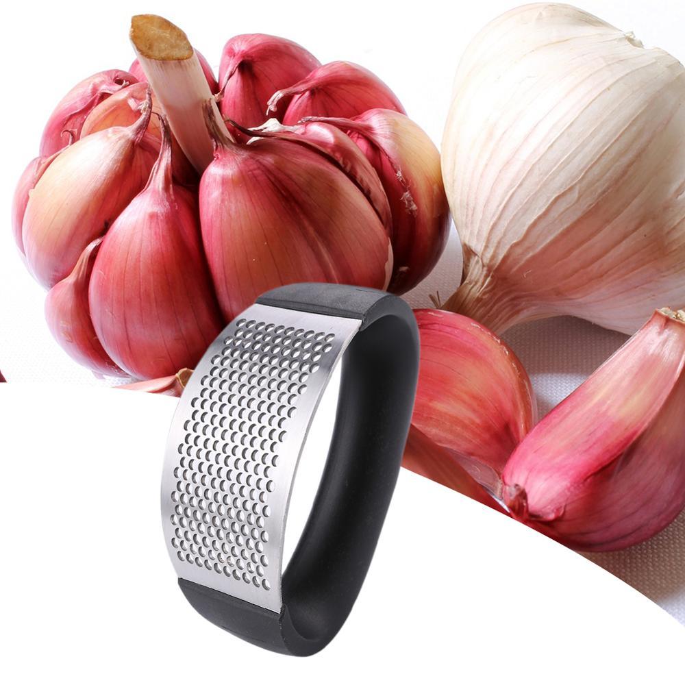 Multi-fonction manuel en acier inoxydable ail Presses broyeur trancheuse Cutter multi-fonction cuisine fruits et légumes outils 5