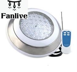 4 sztuk lampa led do basenu AC 12V ze stali nierdzewnej podwodne lampy lampa oświetleniowa fontanna sztuczny wodospad dekoracji oprawa w Światła podwodne od Lampy i oświetlenie na