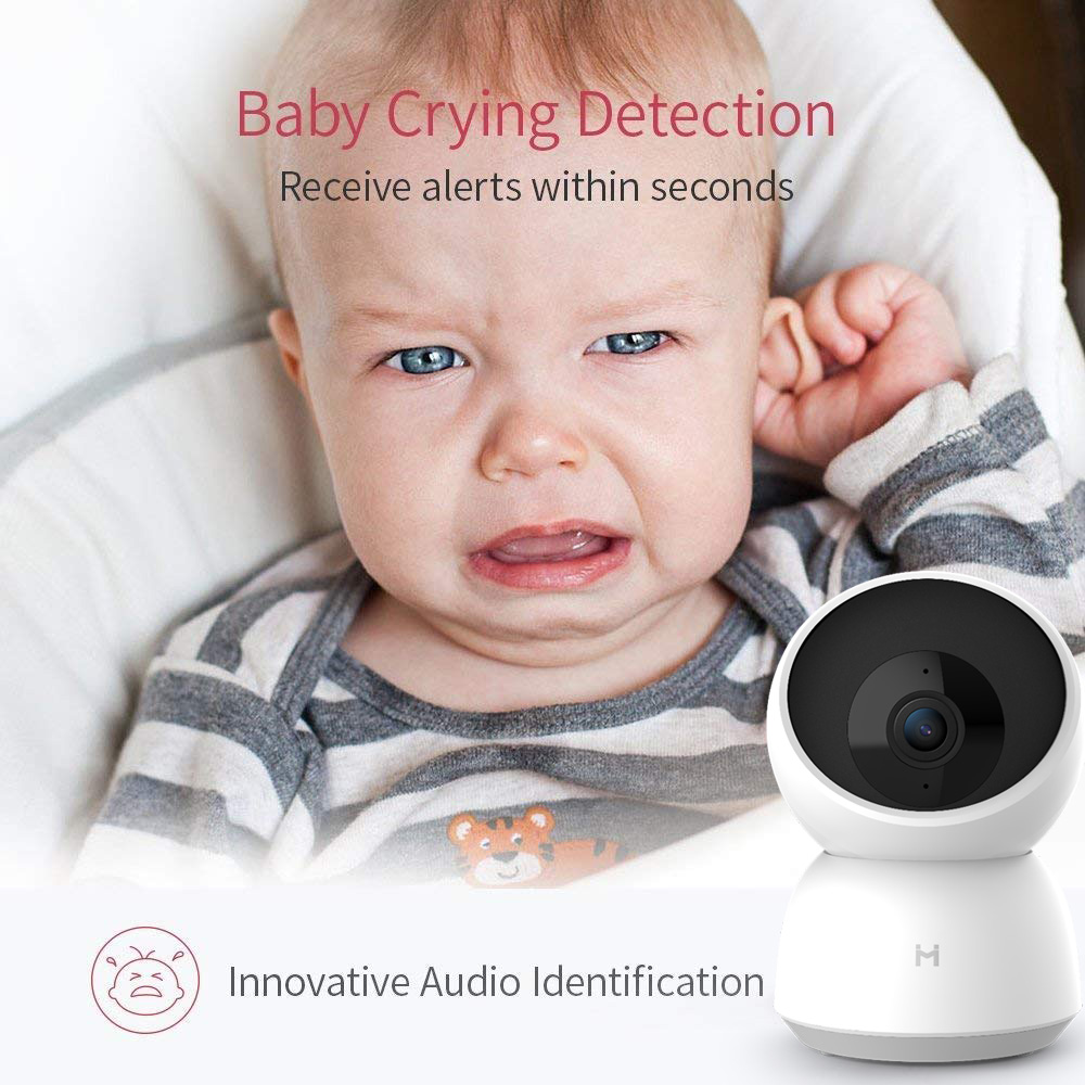 Best Deal—Security-Monitor Video-Camera Webcam Wifi Mi Xiaomi Baby Night-Vision Home-App New 2K