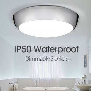 Dimmable Waterproof Led Ceiling Lights IP50 38W 220V Lighting Kitchen fixture Morden Ceiling lamp For Bathroom Courtyard Bedroom