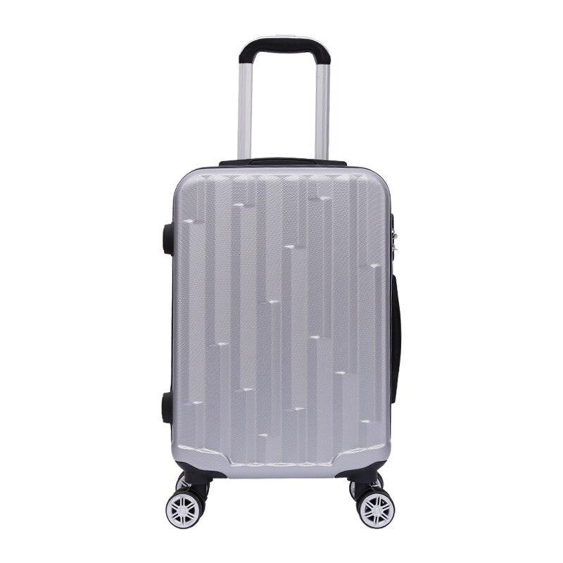 Nouveau 20 pouces boîtier de chariot 24 pouces diamant motif ABS roue universelle mot de passe serrure valise grande capacité bagages Hanimom
