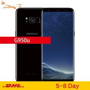 Мобильный телефон Samsung Galaxy S8 G950U, оригинальный, разблокированный, LTE, GSM, Android, Восьмиядерный, 5,8 дюйма, 12 МП, ОЗУ 4 Гб ПЗУ 64 ГБ, Snapdragon 835 NFC