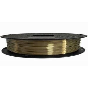 Image 2 - Silk Pla 3D Printer Filament 1.75mm 0.5kg Shine Silky Gold 500g 3d Pen Printing Filament Rich Luster Metal Metallic Material