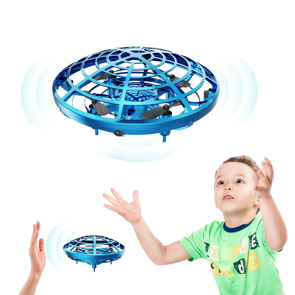Smart Toy 360° Rotating Drones Mini Smart UFO Drone For Kids Flying Toys Hand-Control NEW Physics Teaching