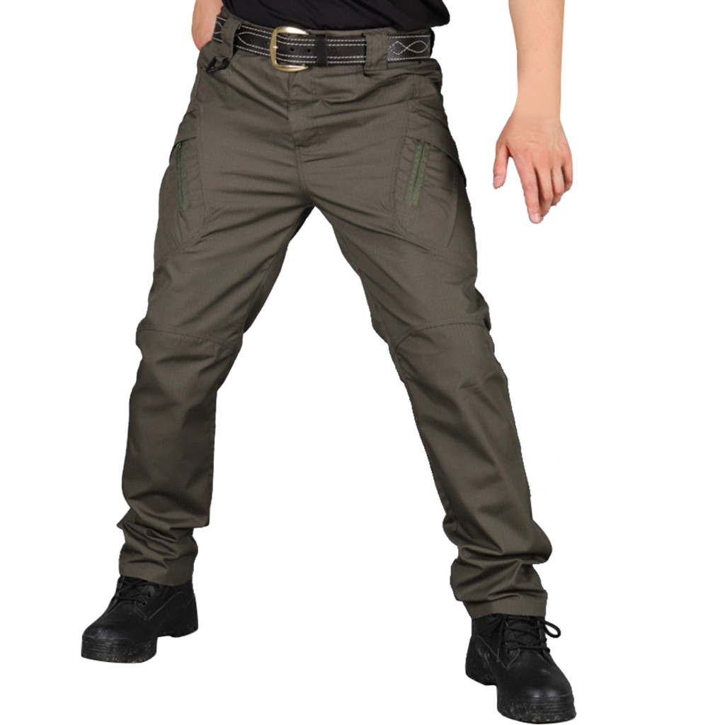 Hip Hop Scratch-proof Water-proof Pants Outdoor Camping Hiking Multi-functional Tactical Outdoor Pants 10.7