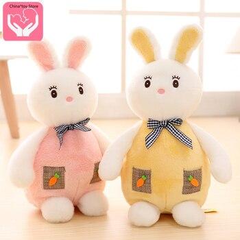 Cute rabbit plush toy little white rabbit doll child holding sleeping doll doll girl birthday gift Plush  PP Cotton недорого