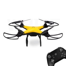 69608 2.4G RC Selfie Smart Drone FPV Quadcopter Aircraft with 0.3MP HD Camera Real -time Altitude Hold Headless Mode 3D Flip