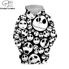 PLstar Cosmos jack skellington nightmare before 3d hoodies/shirt/Sweatshirt Winter Christmas Halloween streetwear-5