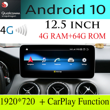 For Mercedes Benz A 160 180 200 220 250 45 MB W176 NTG Navi Car Stereo Audio Navigation GPS IPS Android 10.25 /12.5 Touch Screen image