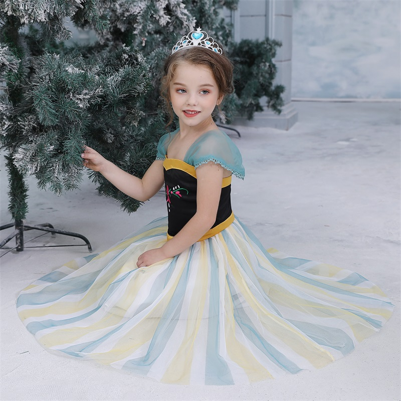 Hfc4ef8a805e34cd39d0b5680edf7490a0 2019 Children Girl Snow White Dress for Girls Prom Princess Dress Kids Baby Gifts Intant Party Clothes Fancy Teenager Clothing