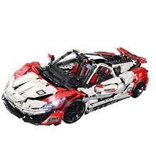 Super Sport Car Building Block Speed Champions Racing Simulation Model Bricks Educational Toys Birthday Gift 23015
