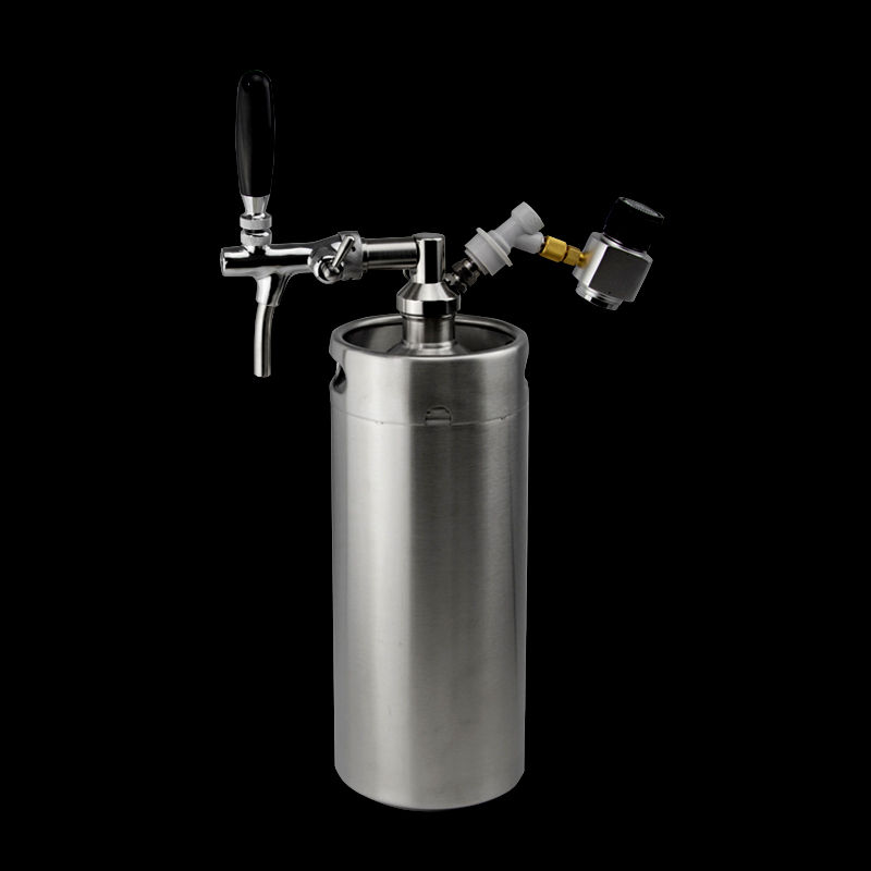 10l Growler Made Of Food Grade Stainless Steel Beer Keg Housebrew For Party Mini Keg Co2 Regulator System 10 Liters Mini Keg