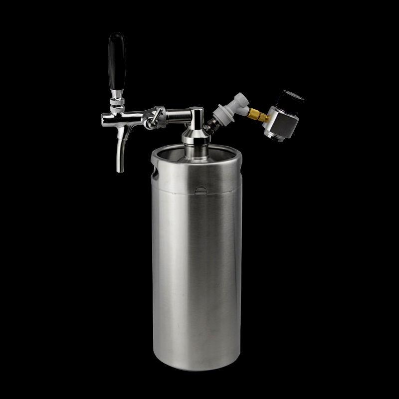 10l Growler Made Of Food Grade Stainless Steel Beer Keg Housebrew For Party Mini Keg Co2 Regulator System 10 Liters Mini Keg