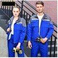 Рабочий комплект одежды для мужчин и женщин  фабричная форма для мастерской  комбинезон с длинными рукавами  безопасная Светоотражающая по...