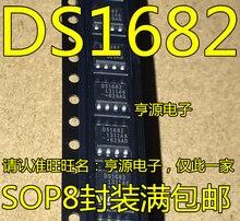 5 pces nova importação ds1682 ds1682s ds1682s + tr remendo sop8 chip de relógio em tempo real
